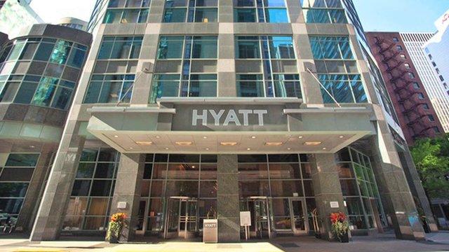 Hyatt Centric Mag Mile building