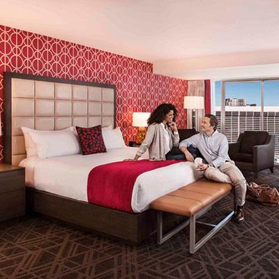Ballys guest room